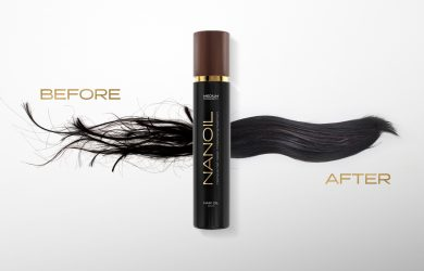 Beste olje for hår - Nanoil