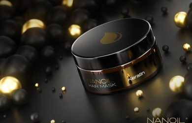 keratin hårmasker Nanoil