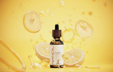 topprangert ansiktsserum med vitamin C Nanoil